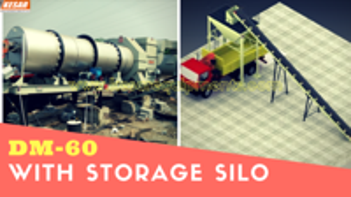 Hot Mix Asphalt Storage Silo