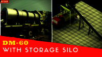 Hot Mix Asphalt Storage Silo