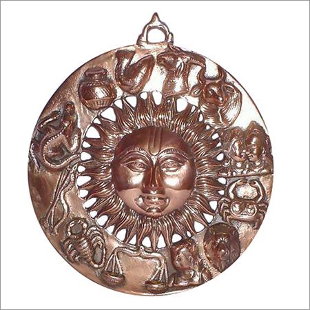 Brown Metals Handicrafts Sri Agarwal Kala Kendra No Sa 18 113