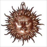 Handcrafted Metal Sun