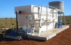 Compact Sewage Treatment Plant for Construction Si