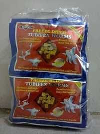 Today Freeze Dried Tubifex Blood Worm Aquatic Fish food