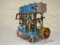 Model Of Compound Steam Engine