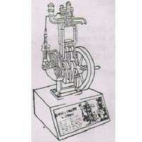 Sectional Working Model Of 2 Stroke Petrol Engine