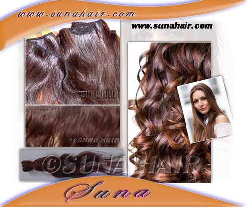 remy brown hair