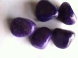 Violet Color Pebble Stone