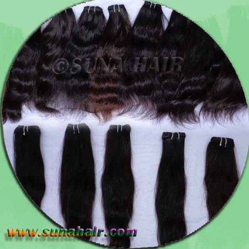 virgin human hair weft