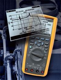 True-rms Industrial Logging Multimeter with Trend Capture