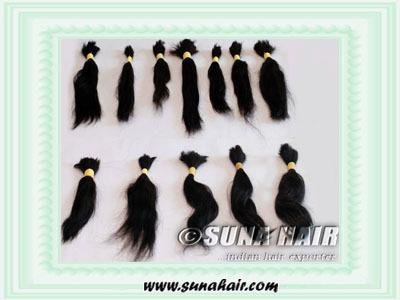 human and natural Hair