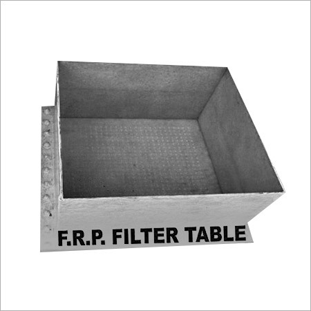 FRP Filter Table