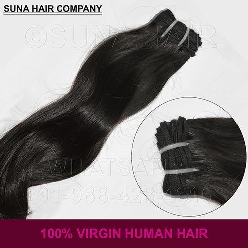 Beautiful Silky Straight Natural Virgin Human Hair
