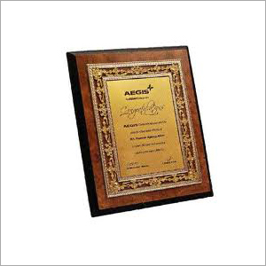 Award Plaque Trophy