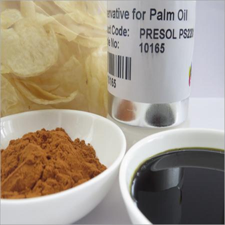 Pure Palm Oil Preservative