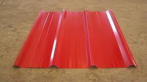 Trapezoid Pre Painted Galvanised Corrugated  Roofing Sheets