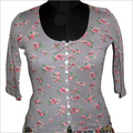 Flower Printed Jersey top