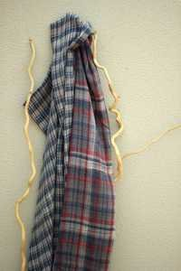 Hand Woven Cotton Wool Scarf