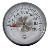 PGFE : Cylinder Pressure Gauge
