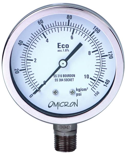 PGCSS : Compact Case Pressure Gauge