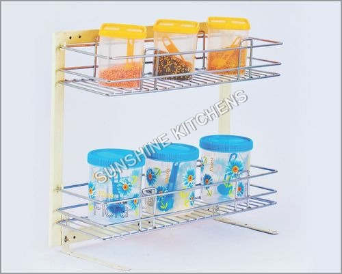 2 Shelf Pullout Detachable