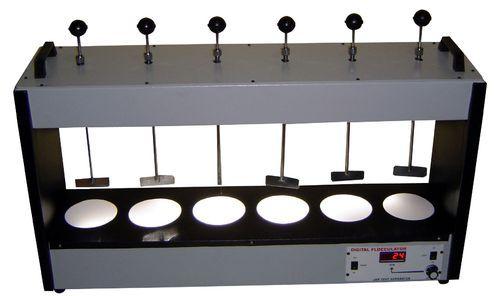 Alum Jar Test Apparatus Electrically Operated