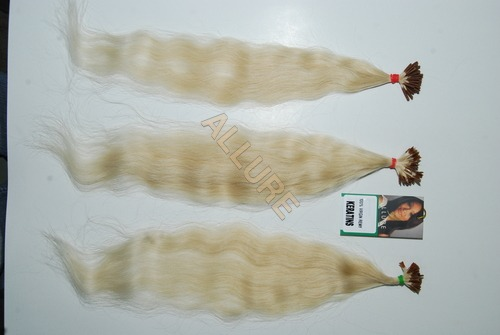 Virgin Remy White Keratins Human Hair