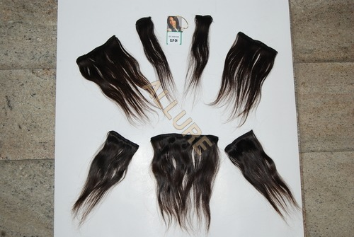 Virgin Remy Clip On Human Hair
