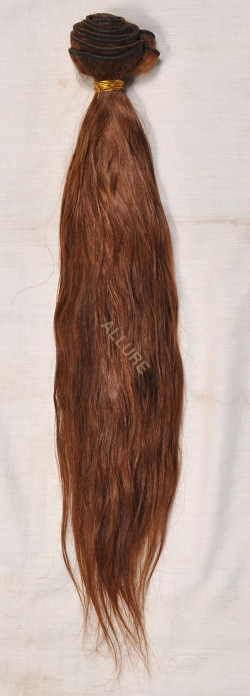 Light Brown Weft Hair