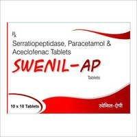 Aceclofenac, Serratiopeptidase & Paracetamol