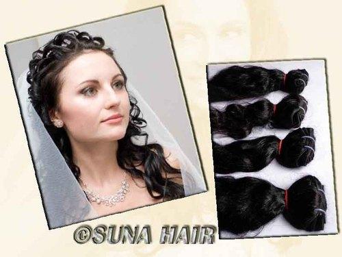 loose curly natural hair