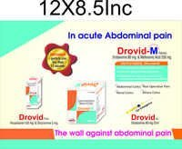 Drotaverine Hcl. & Mefenamic Acid Tablets