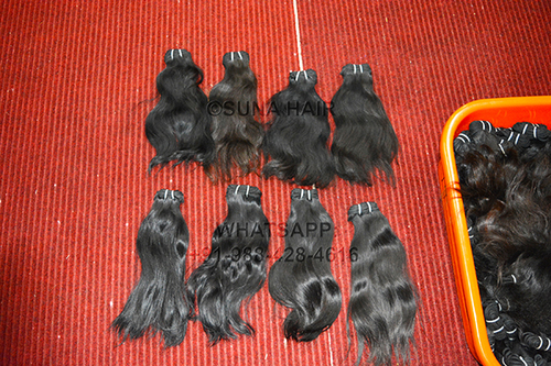 Wholesale price Indian curly human hair extension