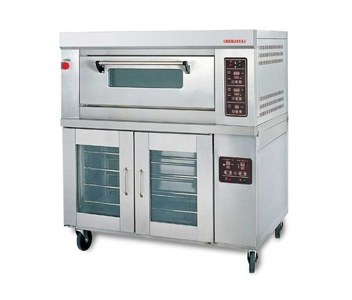 Gas Oven with Pan Proofer