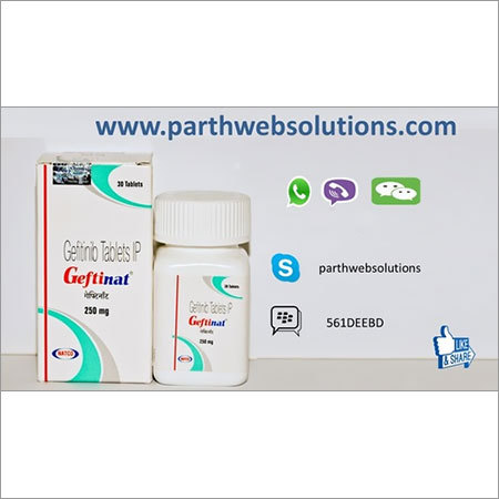 Geftinat, Gefitinib Tablets