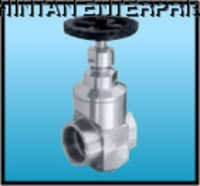 SS Gate Valve Screwed End