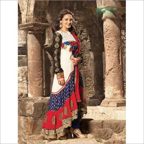 Anarkali Hand Embodry Suit