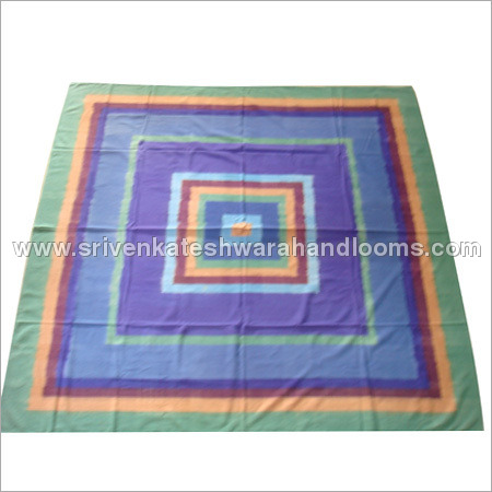 Handloom Woven Warp and Weft Bed Spread