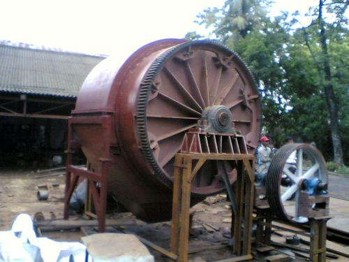 Gear Drive Ball Mill