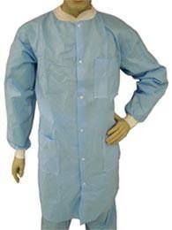 hospital lab coat