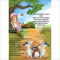 Nursery Rhymes Book Pages