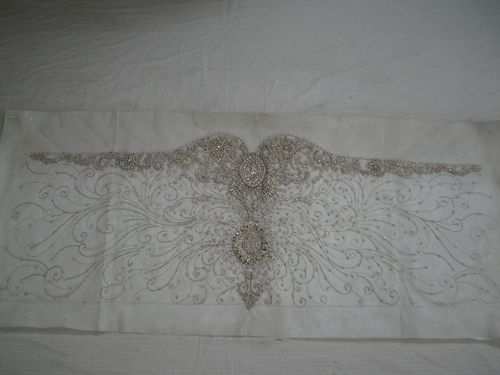 Swarovski/Crystal Embroidery Gown
