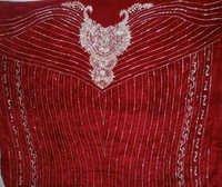Swarovski/Crystal Embroidery on velvet
