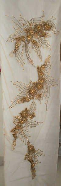 Swarovski/Crystal Embroidery Panel/Coupon