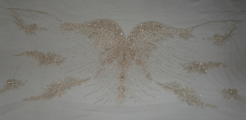 Swarovski/Crystal Embroidery Gown