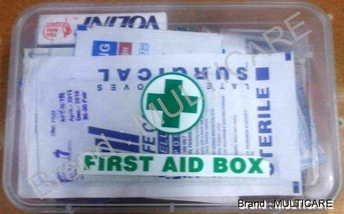 First Aid Box Plastic Type
