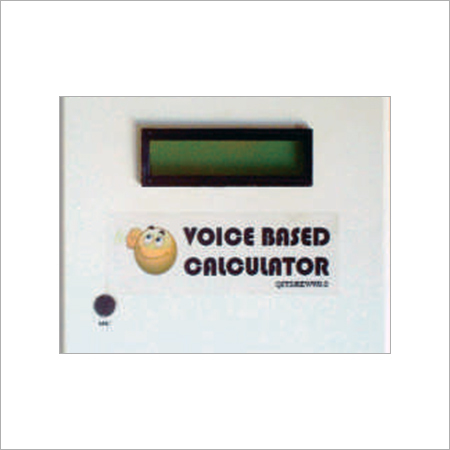 Voice Operated Calculator