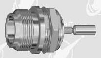 N female bulkhead crimp for LMR 100 cable