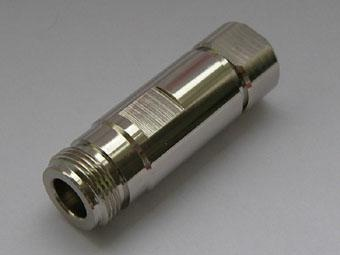 N Female connector for quater inch cable