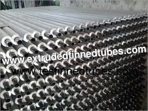 Rice Mill Heat Exchanger Finned Tubes