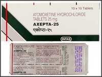 Straterra Generic Atomoxtine Tablets 25mg