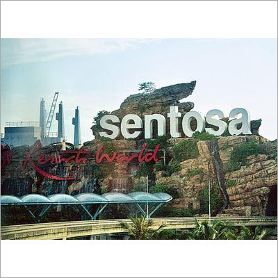 Sentosa Island including Underwater World and Dolphin Lagoon